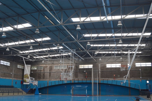 En los próximos días darán comienzo las obras de sustitución de la cubierta del Pabellón municipal de Tasagaya