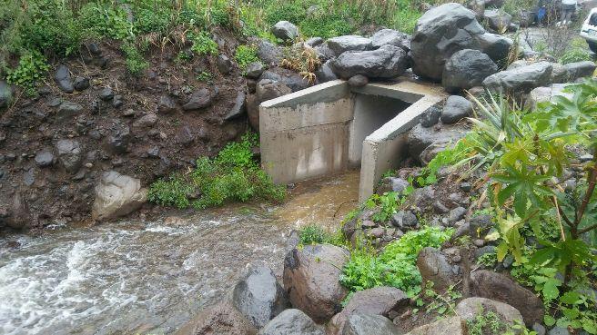 Los embalses del norte y oeste de Gran Canaria recogen durante el temporal agua para regar más de tres meses
