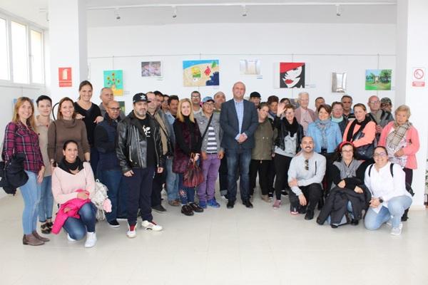 Los trabajos de Atelsam de la zona sur se exponen en el centro cultural de San Isidro