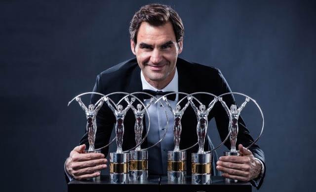 """Federer, el millor de tots els temps: """"Vull compartir aquest premi amb Nadal"""""""