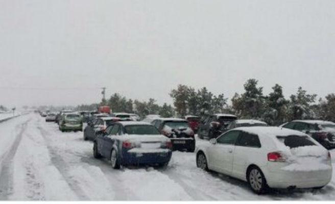 Vuelven las nevadas copiosas al norte por una masa de aire polar