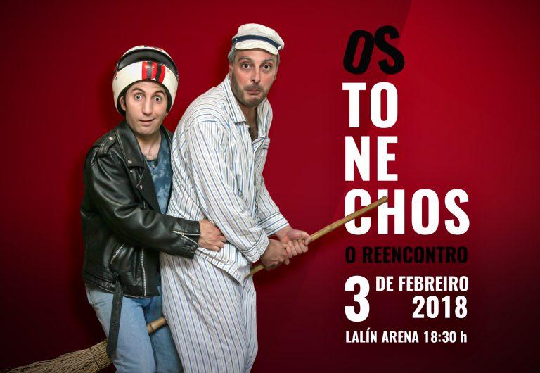 """Los Tonechos vuelven en el """"REENCUENTRO"""" esta tarde en el Lalín Arena"""