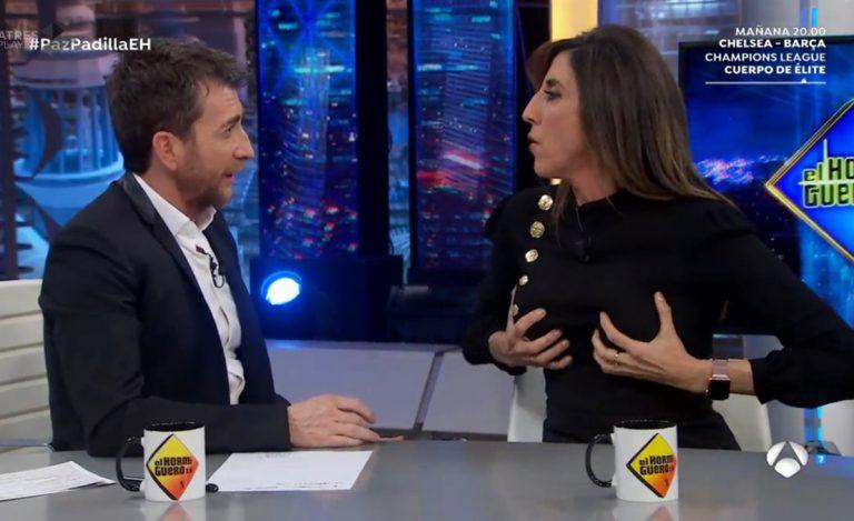 Paz Padilla dejó a todos con la boca abierta en 'El Hormiguero'