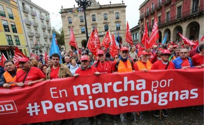 Movilizaciones por unas pensiones dignas