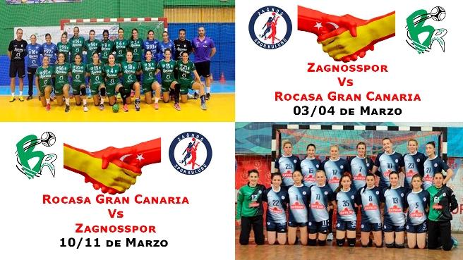 El Rocasa Gran Canaria jugará los cuartos de final contra el equipo Zagnosspor de origen turco