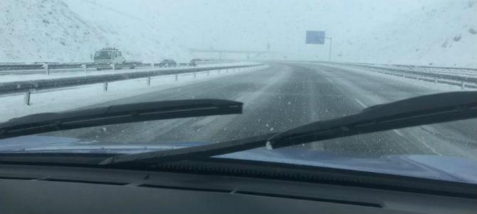 El temporal afecta a todo tipo de transporte en toda la comunidad aragonesa