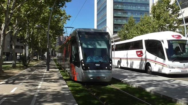Trabajadores de Tranvía Zaragoza anuncian paros parciales desde el 16 de Febrero