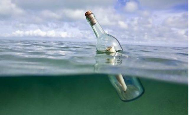 lowest price timeless design fast delivery Una familia halla un mensaje en una botella que data del ...
