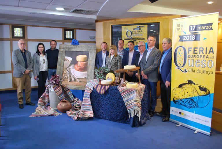 Queseros internacionales se citan en la Feria Europea del Queso en la Villa de Moya