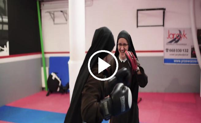 Conoce a las monjas boxeadoras que se pegan por una buena causa