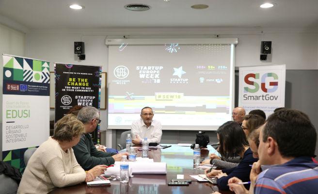 La Diputación de Valencia en la Startup Europe Week 2018