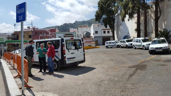 La Parada de Taxis de Teror se traslada a la antigua Estación de Guaguas
