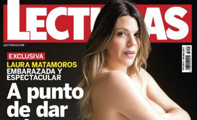 Laura Matamoros Presume De Embarazo Y Posa Desnuda En Una Portada Qué