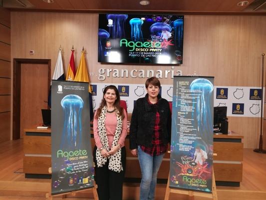 El Puerto de Las Nieves se convierte por primera vez en una pista de baile y música al aire libre con Agaete Disco Party