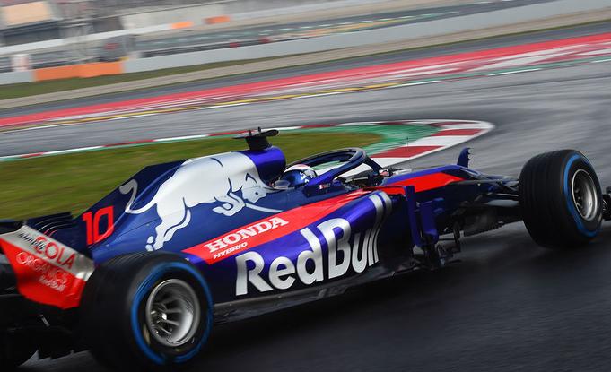 Tests de Barcelona: Toro Rosso, els més ràpids sobre mullat