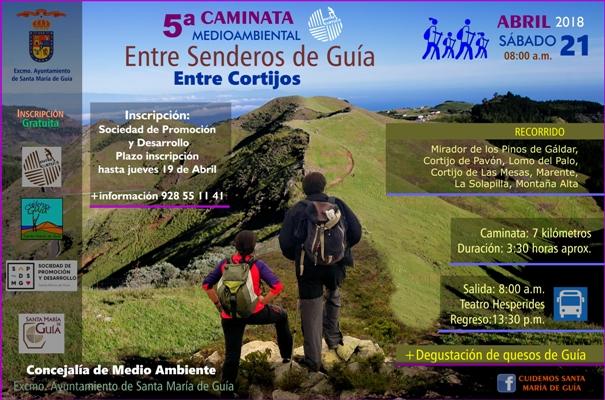 La 5ª Caminata Medioambiental  discurrirá por los  paisajes de la carrera de montaña 'Entre Cortijos'