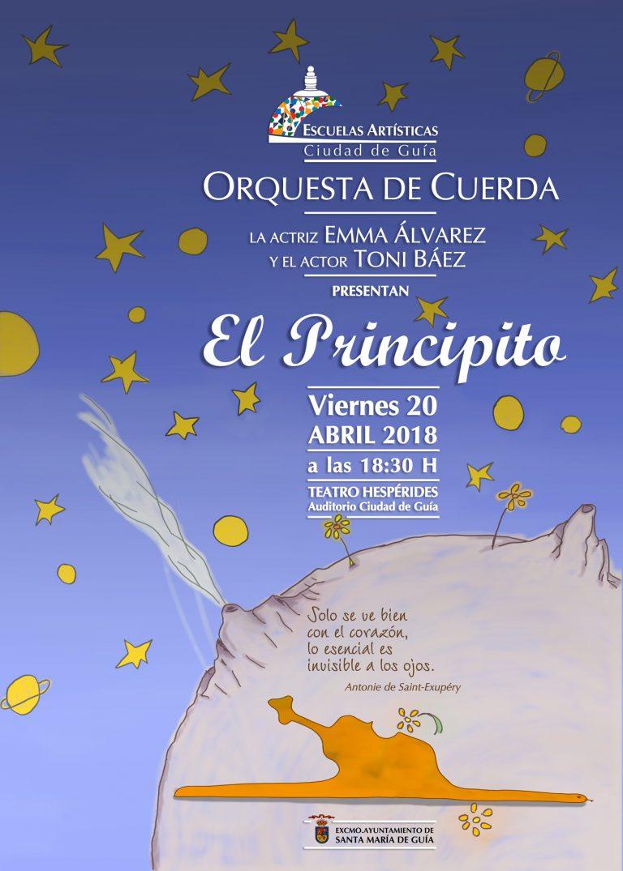 El Teatro Hespérides acoge el espectáculo musical 'El Principito' a cargo de las Escuelas Artísticas Ciudad de Guía