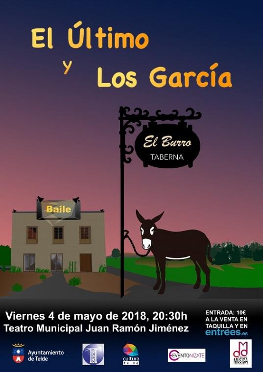 """El Teatro Juan Ramón Jiménez de Telde acoge el """"Tributo a Manolo García"""" de la mano de El Último y Los García"""