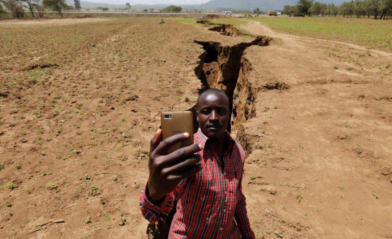 Aparece en Kenia una gran grieta que partirá África en dos