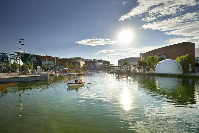 El centro comercial Puerto Venecia cambia de nombre el 20 de Abril