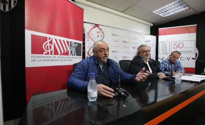 La FSMCV llenará Mestalla de músicos y batirá 18 Guinness World Records con motivo de su 50º aniversario