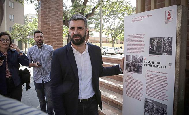 La Ciudad del artista fallero se convierte en un museo al aire libre