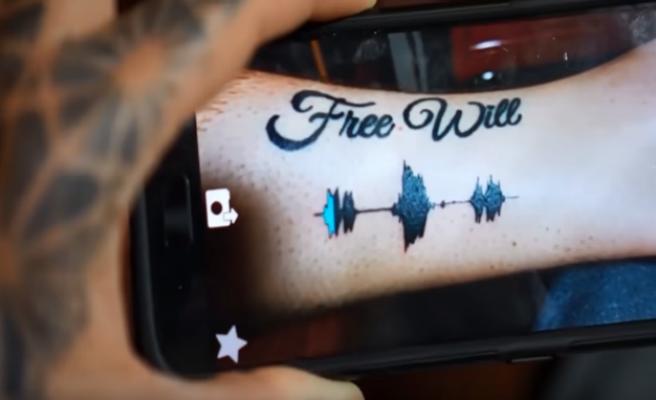 Tatuajes musicales. La nueva moda que llega de los EE.UU.
