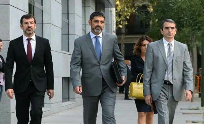 """Trapero y sus exmandos políticos son acusados de poner los Mossos """"al servicio"""" de la independencia"""