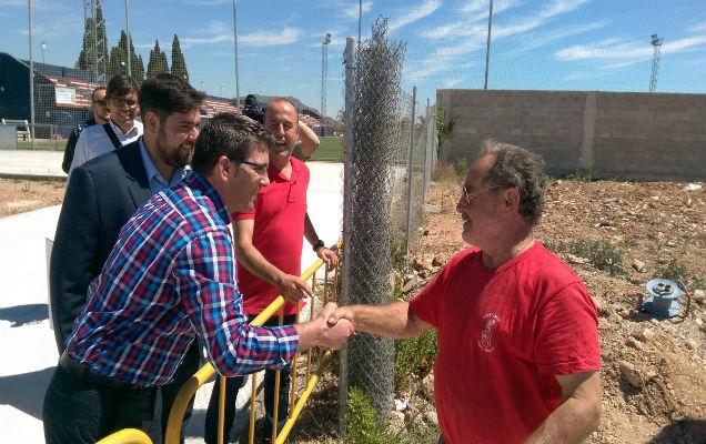 Rafelbunyol inicia la segunda fase de renovación del polideportivo con ayuda de la Diputació