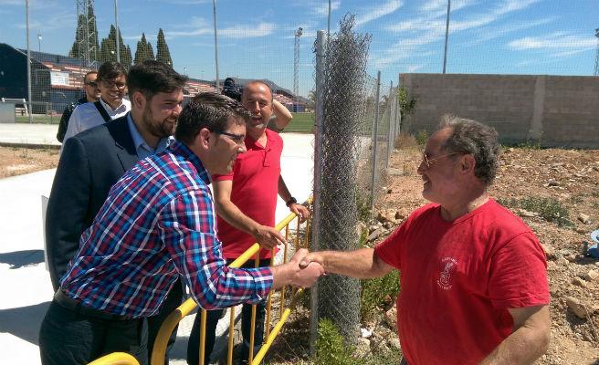 Rafelbunyol inicia la segunda fase de renovación del polideportivo