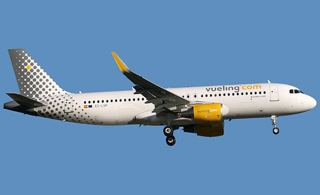 Vueling cancela 246 vuelos hoy y mañana por la huelga