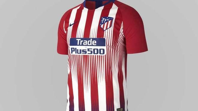 OFICIAL: Así será la primera camiseta del Atlético de Madrid para la temporada 2017/18