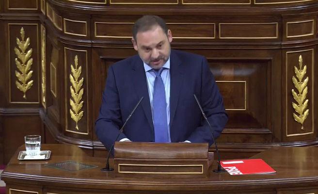 """Ábalos dice al Gobierno que """"si comprendiera la gravedad de la situación"""" no habría moción de censura"""