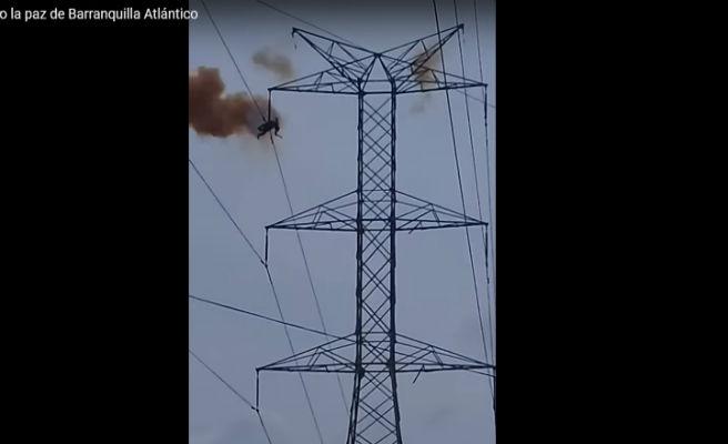 Un joven de 20 años muere electrificado al subirse a una torre de alta tensión