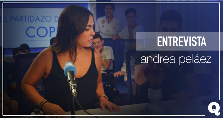 """Andrea Peláez: """"He descubierto el fútbol femenino y ahora no quiero salir de él"""""""
