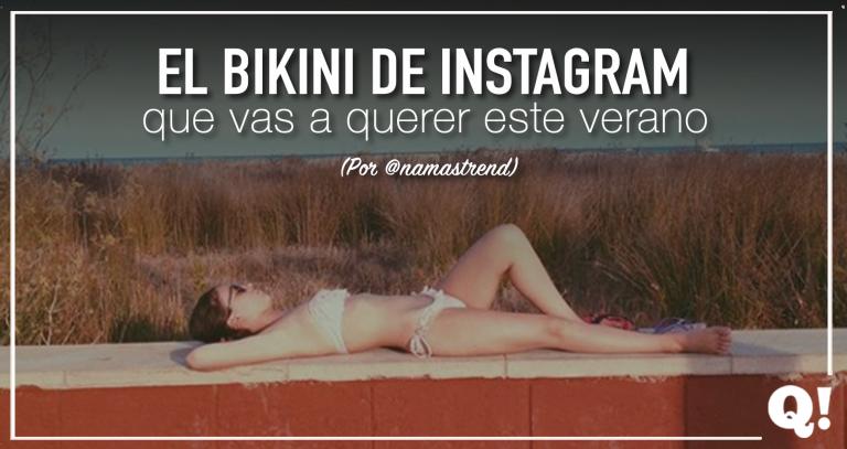 El bikini que se ha puesto de moda en Instagram y vas a querer este verano