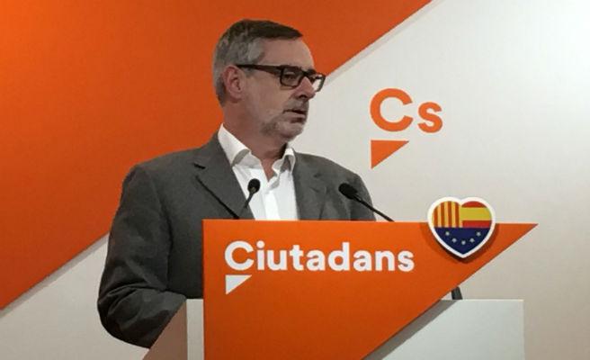 """Ciudadanos al Gobierno: """"La prioridad no puede ser salir corriendo de Cataluña"""""""
