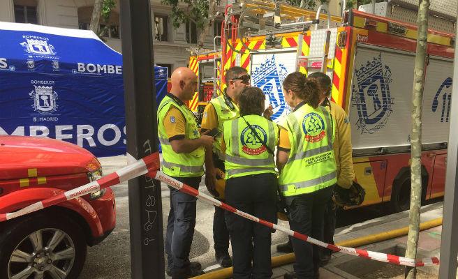 Encontrado sin vida el cuerpo del segundo obrero desaparecido en el derrumbe de un edificio en Madrid
