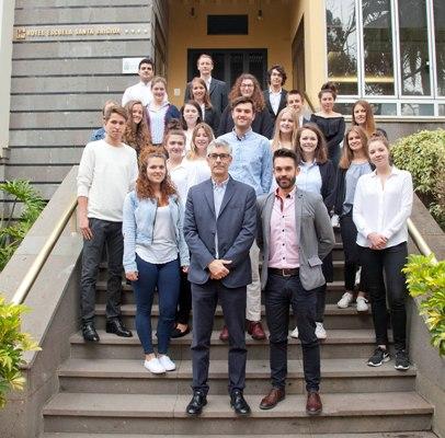 Dieciocho estudiantes alemanes aprenden español aplicado a la hostelería en las instalaciones de Hecansa