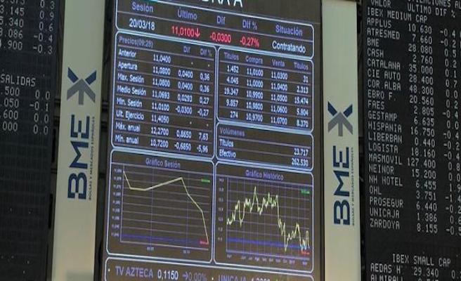 El Ibex repunta un 0,47% y rompe con cinco sesiones en negativo