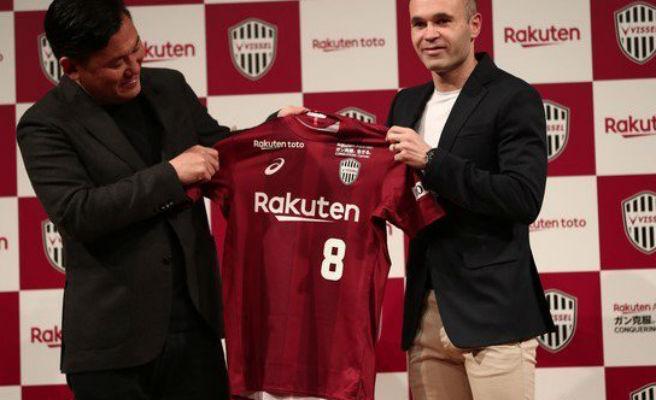 """Iniesta: """"Tengo mucho respeto por el fútbol japonés y confío en este proyecto"""""""