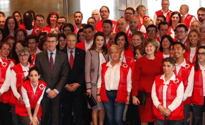 La Reina preside los actos del Día Mundial de la Cruz Roja