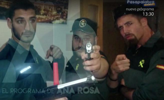 Se filtran audios e imágenes de 'La Manada' vestidos de Guardia Civil