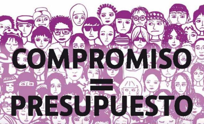 El feminismo sale hoy a las calles para reclamar dinero contra la violencia de género