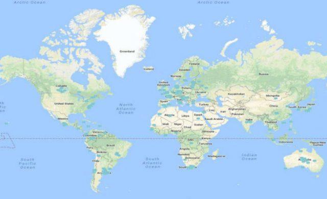 Nueva Zelanda Mapa Mundi.Nueva Zelanda Se Queja Por No Aparecer En La Mayoria De Los