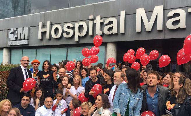 """Niños con cáncer lanzan hoy """"un mar de besos"""" para celebrar el Día del Niño Hospitalizado"""