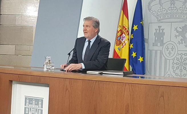 """El Gobierno actuará si Torra incluye a presos en la Generalitat porque """"no es posible"""""""