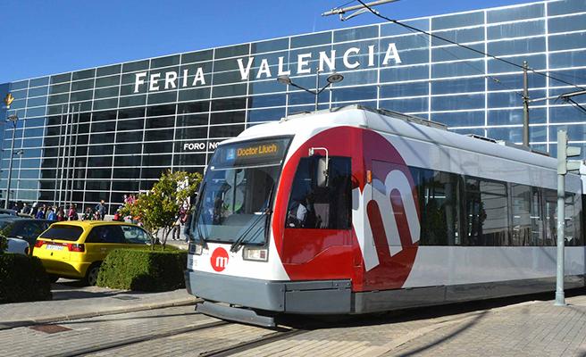 Metrovalencia ofrece servicios especiales de tranvía a Feria Valencia para acudir a Día Mágico By Fimi