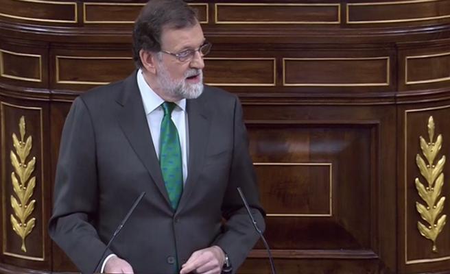 """Rajoy acusa al PSOE de """"mentir"""" con una """"interpretación libre, interesada y manipulada"""" de la sentencia"""