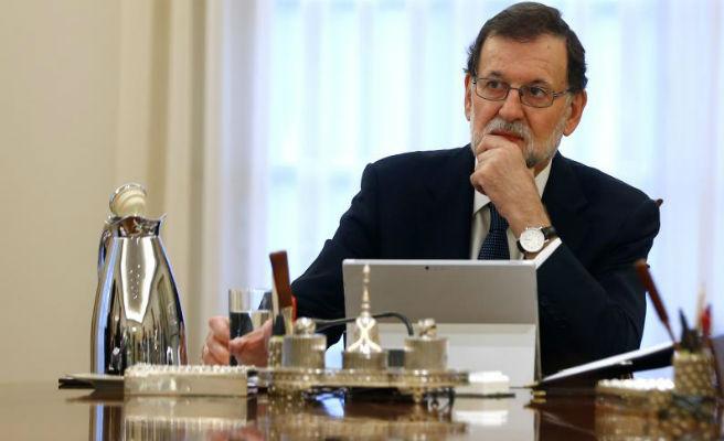 """Rajoy: """"La moción es mala para España y se basa en el interés de Sánchez de buscar sitio en la política española"""""""